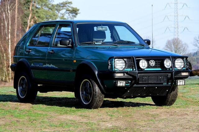 Volkswagen - Golf Country 1.8 Injectie 4x4 - 1990