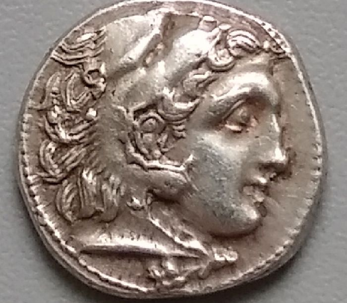 Greece (ancient) - Kings of Macedon. AR Drachm, Philip III (323-317 BC). Kolophon, circa 323-319 BC - Silver