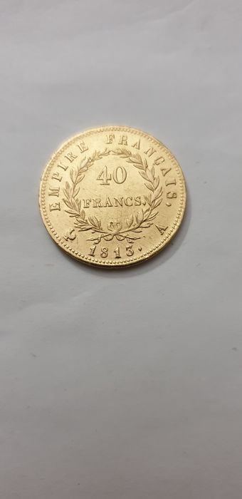 40 Francs 1813 A Napoleon I - Or