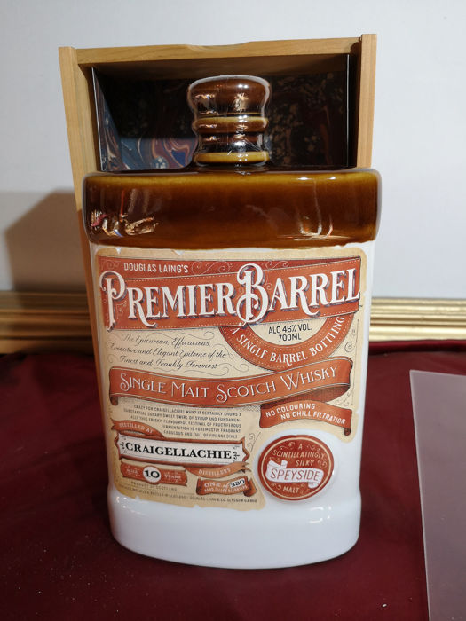 Craigellachie 10 years old premier barrel  - 0.7 Ltr