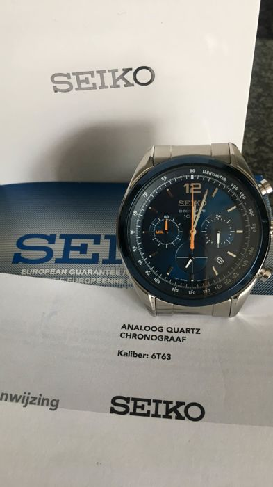 Seiko - Chronograph 6T63 - Men - 2018