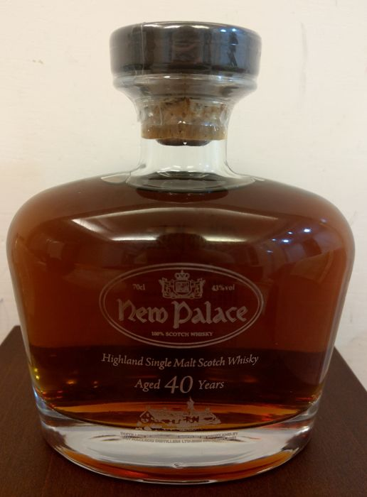 New Palace 40 years old Highland Malt - Ian MacLeod - 70cl
