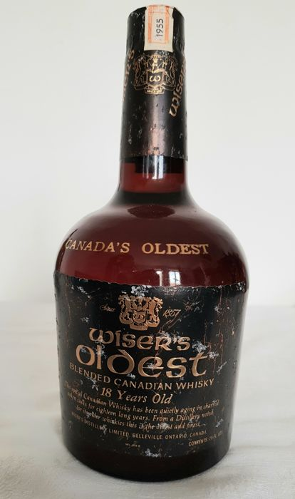 Wiser's Oldest 1955 18 years old Canadian Whisky - 70cl
