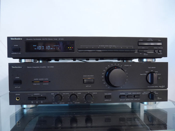Technics - SU-V560+ ST-610 - Hi-Fi set
