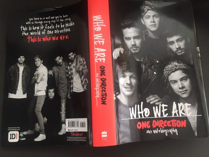 Martin Topping - One Direction  Who we are  Signed by all members