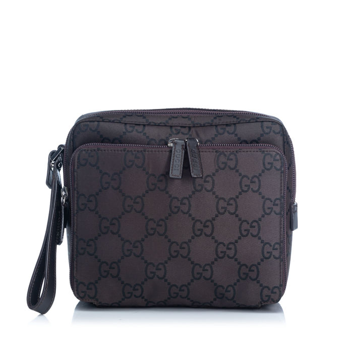 Gucci - GG Jacquard Handbag Clutch Bag
