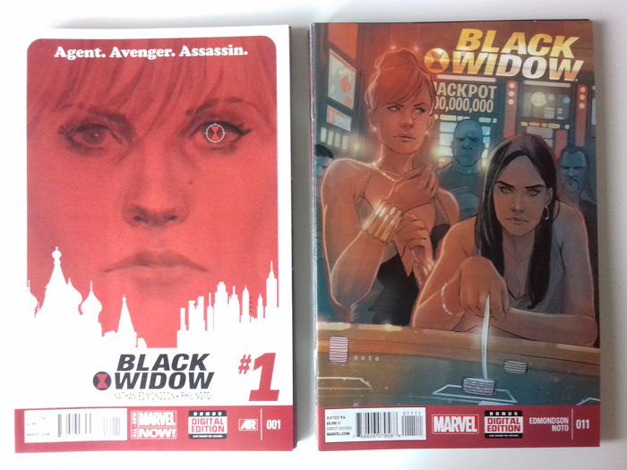 Black Widow Complete Set  - Issues #1-20 - First edition