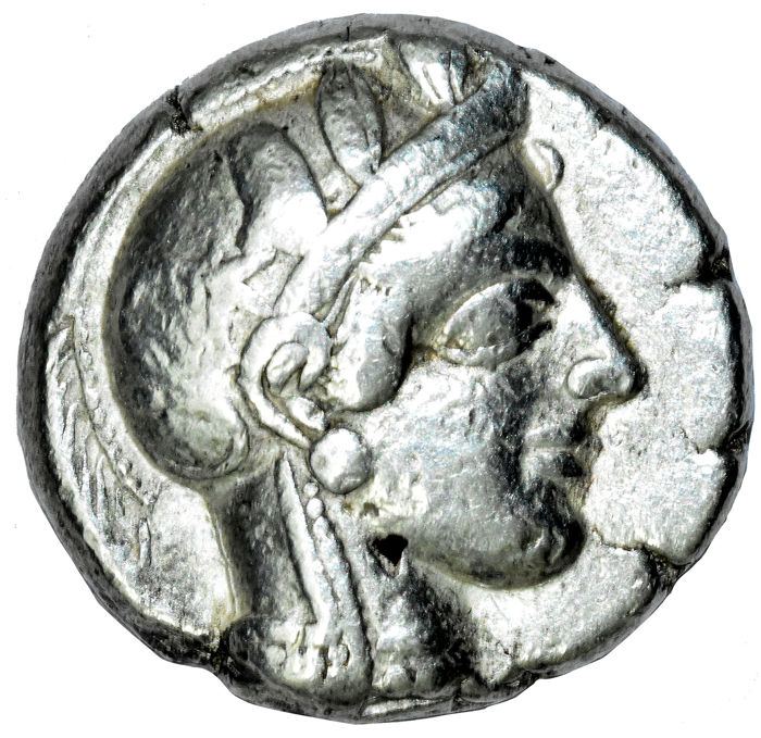 Greece (ancient) - Attica, Athens. AR Tetradrachm, circa 454-404 BC.  - Silver