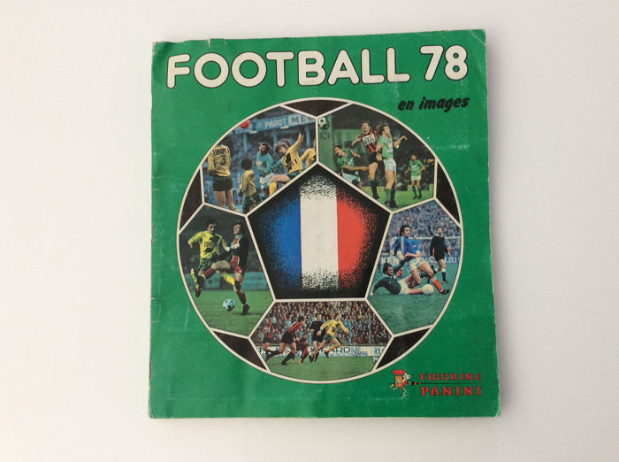 Panini - Complete album Football 78