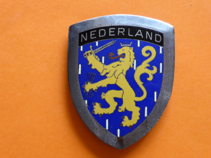 Crachá - Vintage Badge Nederland - 1960-1960
