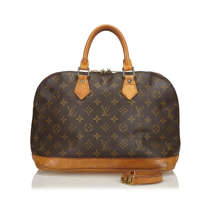 Louis Vuitton - Monogram Alma PM with Strap Handbag