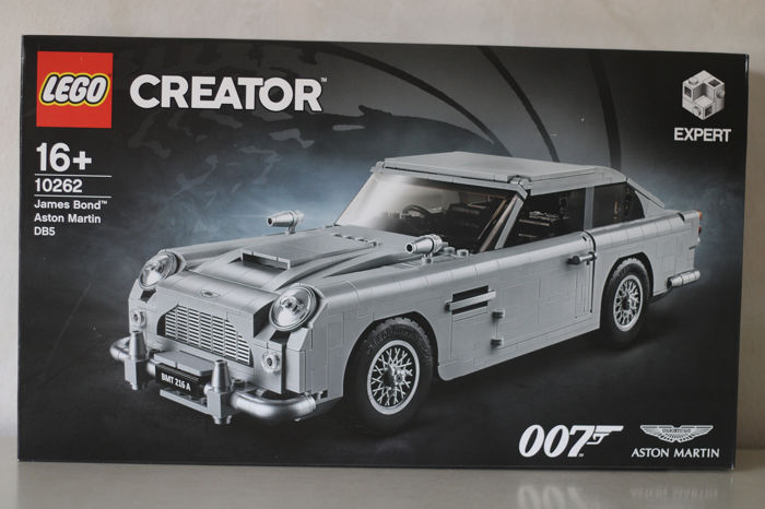 Lego Creator Expert 10262 Car James Bond Aston Martin