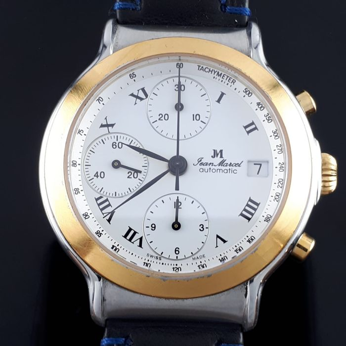 "Jean Marcel - Chronographe Automatic Gold/Steel - 161.165 - ""NO RESERVE PRICE"" - Men - 2011-present"