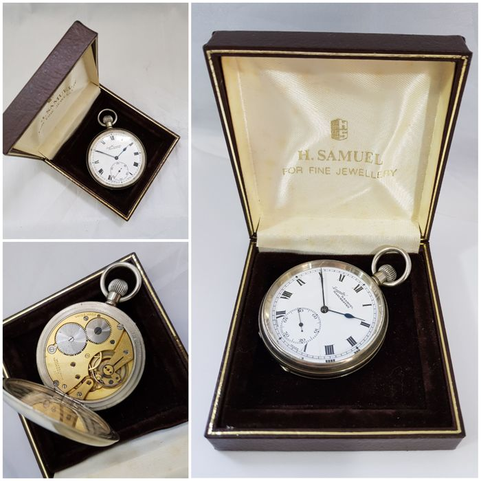 "Everite H. Samuel Manchester - open face - ""NO RESERVE PRICE"" pocket watch  - Men - 1850-1900"