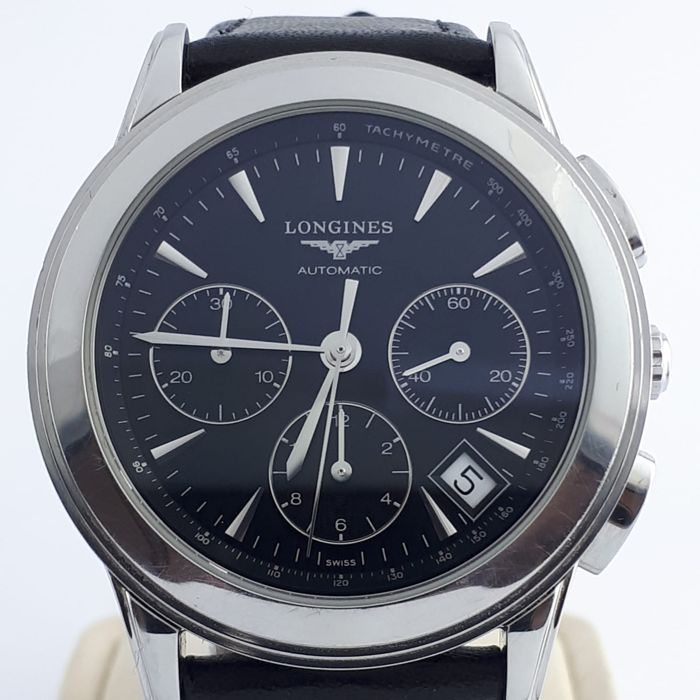 "Longines - Flagship Chronograph Automatic - L4.718.4 -""NO RESERVE PRICE"" - Men - 2011-present"