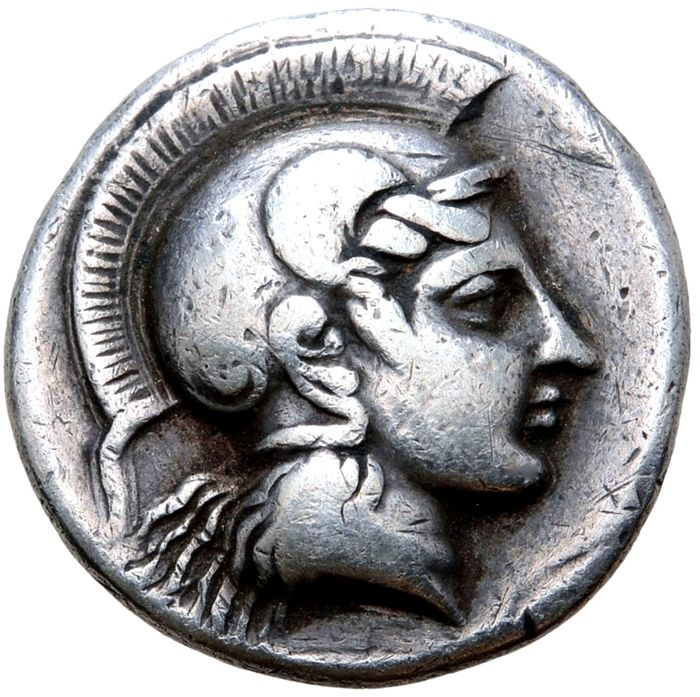 Greece (ancient) - Thessaly, Pharsalos. AR Drachm, circa 424-404 BC - Silver