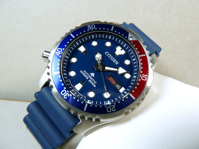 Citizen -  Promaster Aqualand Automatic Divers 200 Metri Blu New Special Etition 2019 - NY0086-83 - Men - 2019