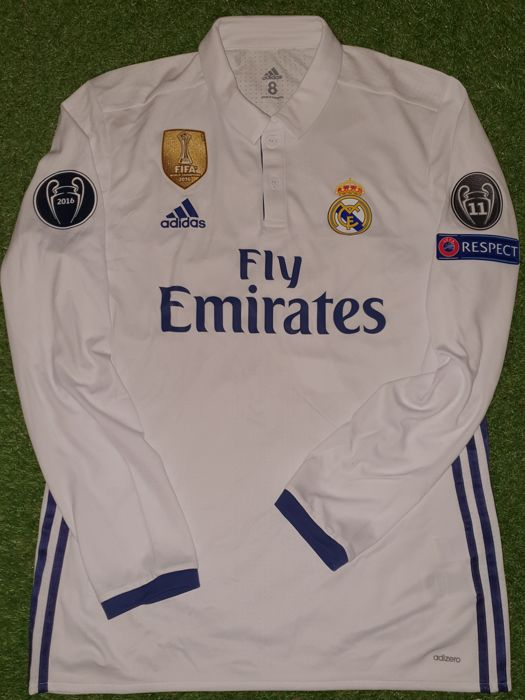 new product 5b509 f71f0 Real Madrid - Champions Football League - Cristiano Ronaldo - 2017 - Jersey  - Catawiki