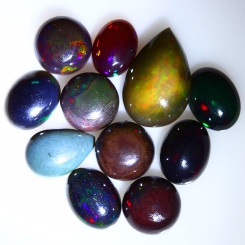 Opaal Cabochon - 2.091 g - (11)