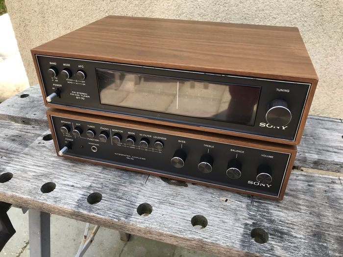 Sony - Vintage TA-70 en ST-70 - Multiple models - Amplifier, Tuner