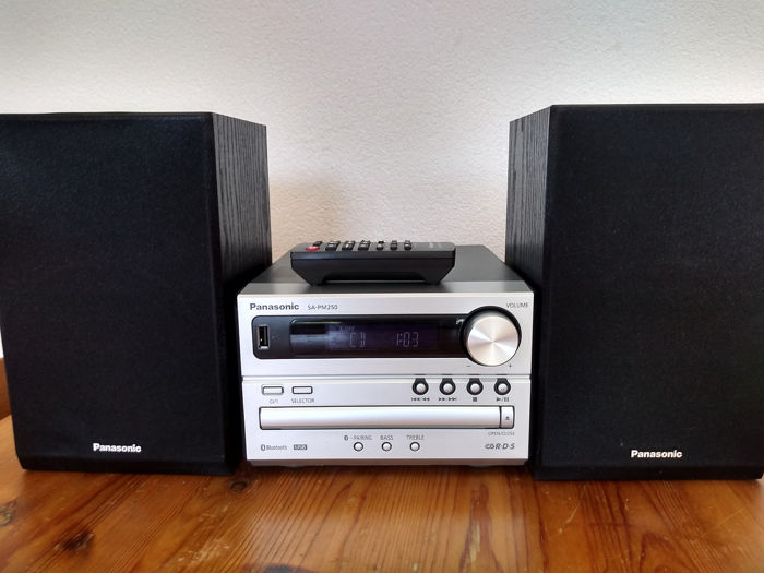 Panasonic - SA-PM250 - CD Player