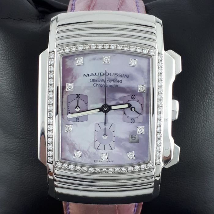 Mauboussin - Fouga Automatic Diamonds  - Unisex - 2011 - actualidad