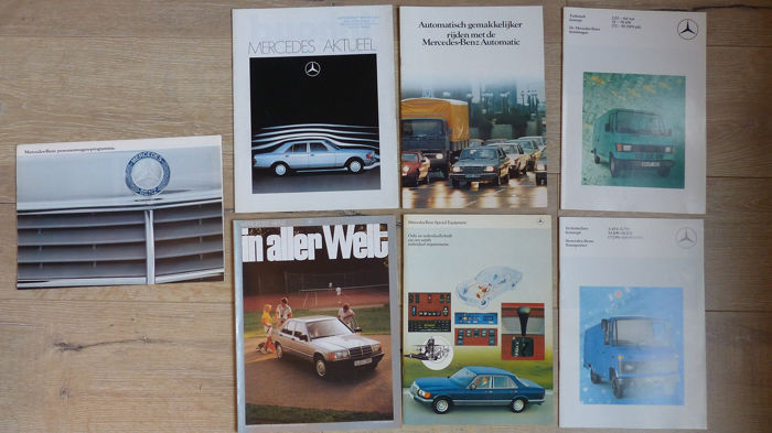 Brochures / catalogues - Mercedes-Benz - O.a. Transporter, Cross-Country, 380, 500 - 1978-1983