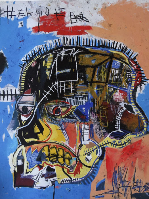 Jean-Michel Basquiat  - Composition