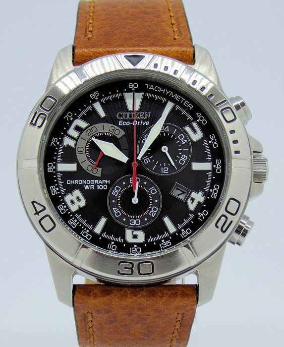 Citizen - Eco-Drive Chronograph - H570 - Heren - 2011-heden