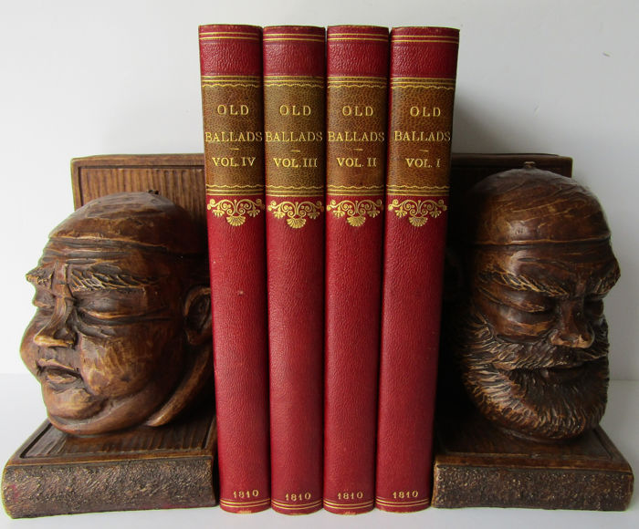 Thomas & Robert Evans - Old Ballads, Historical and Narrative, with Some of Modern Date - 1810
