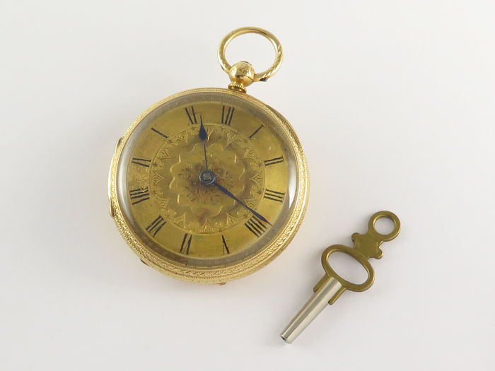 English Pocket watch  - Unisex - 1850 - 1900