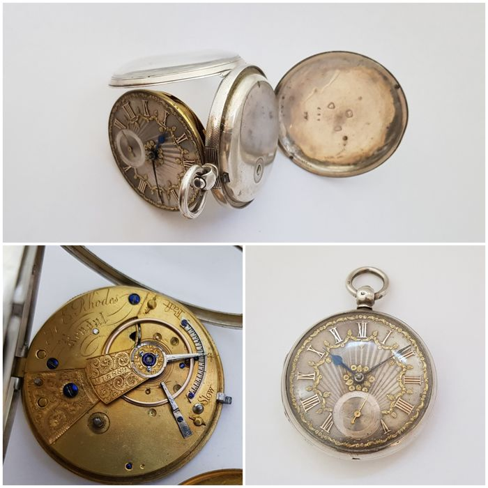 1866 - England - London - E Rhodes Kendal  -  pocket watch NO RESERVE PRICE - Unisexe - 1850-1900