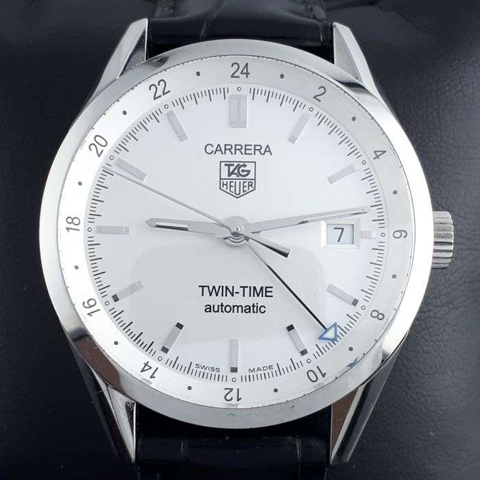 TAG Heuer - Carrera Calibre 7 Twin Time  Automatic  - ww2110-0 - Men - 2011-present