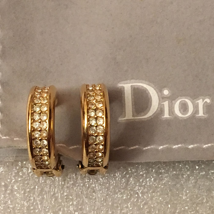 Christian Dior - petites creoles Earrings