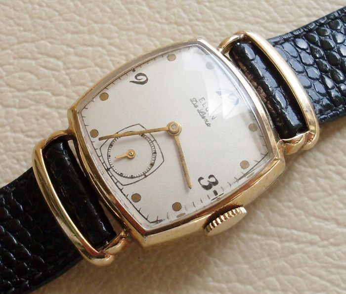 Elgin National Watch Co. - De Luxe - L705676 - Men - 1901-1949