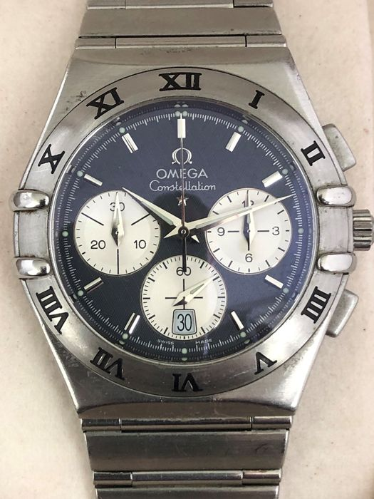 Omega - Constellation Chronograph - Homme - 1990-1999