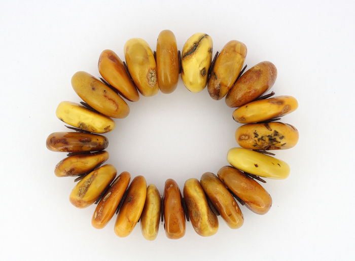 Amber - Bracelet - Natural (untreated)