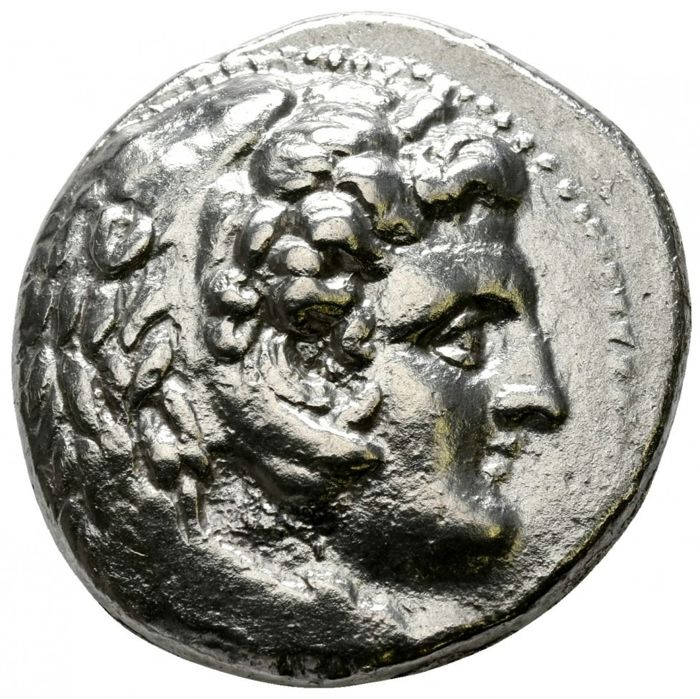 Greece (ancient) - AR Tetradrachm, Alexander III 'the Great' (336-323 BC). Lifetime issue of Babylon, 325-323 BC - Silver