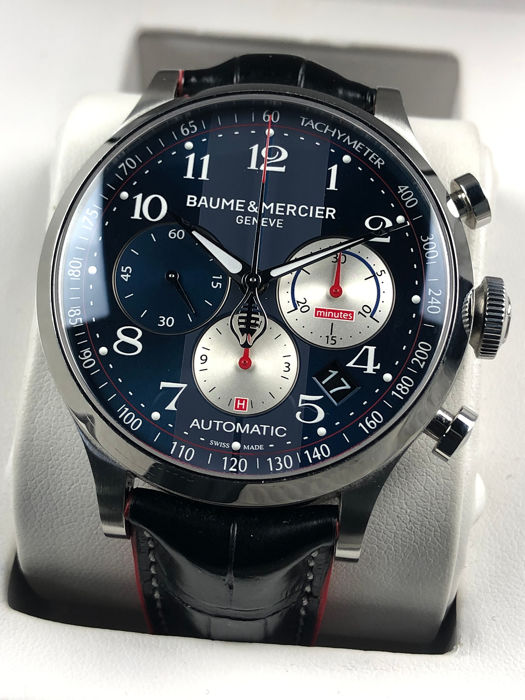 Baume & Mercier - Capeland Shelby Cobra Limited Edition Chronograph Automatic - MOA10232 - Heren - 2011-heden