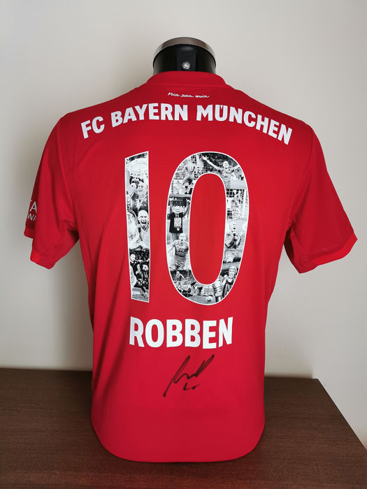 size 40 0efe5 b1dde FC Bayern München - German Football League - Arjen Robben
