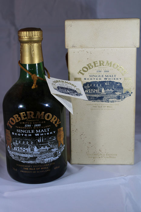 Tobermory 1798-1998 bicentenary - Original bottling - b. 1998 - 70cl