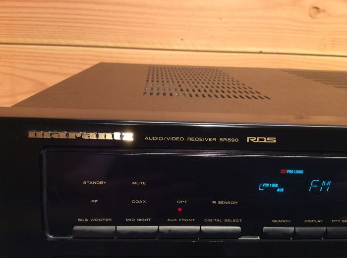 Marantz - Audio/Video Receiver SR590 RDS - Receiver