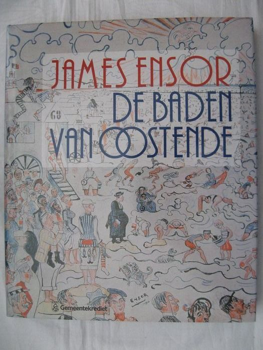 James Ensor - Lot with 5 books - 1975/1996