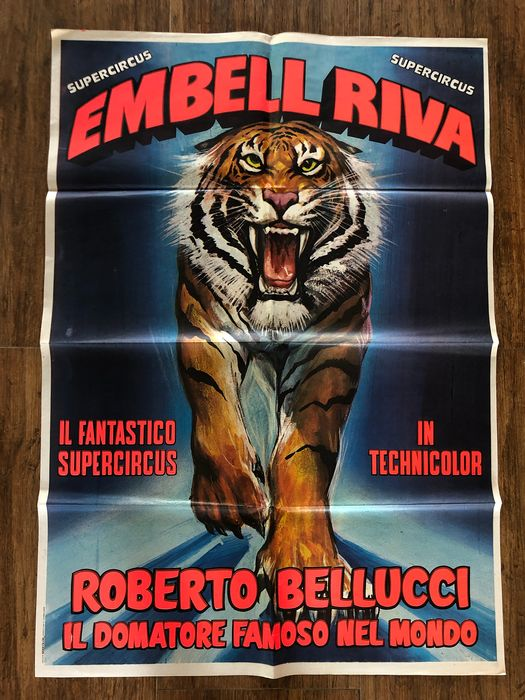 Anonymous - Circus Collectibles - Embell Riva - Tiger - 1972
