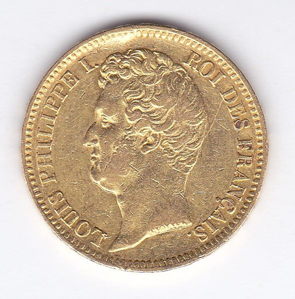 France - 20 Francs 1831 B (Rouen) Louis Philippe I - Or