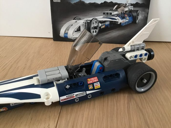 Lego Technic Breaker 42033 Back Pull Mécanique Voiture Record vYb7gf6y