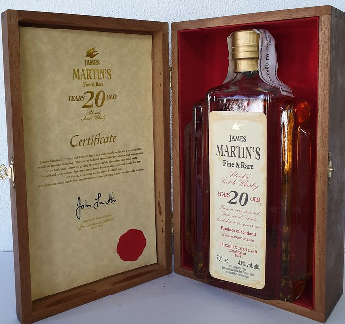 James Martin's 20 years old Rare & Fine - James Martin's - 0.7 Ltr