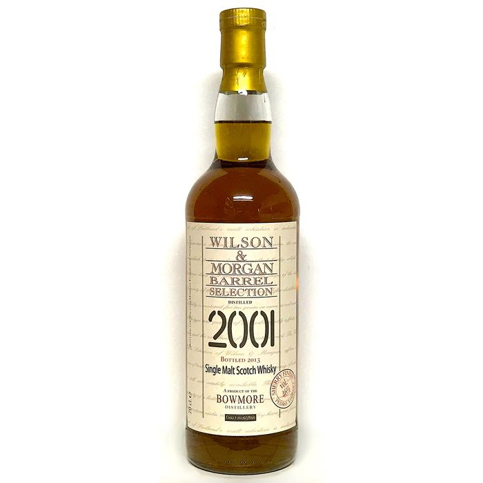 Bowmore 2001 Barrel Selection PX finish - Wilson & Morgan - b. 2013 - 70cl