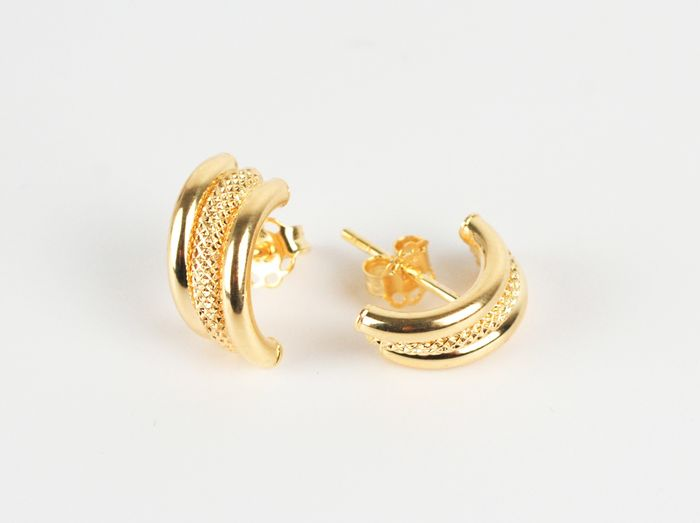 Unoaerre - 18 kt. Yellow gold - Earrings