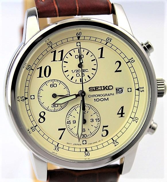 "Seiko - ""NO RESERVE PRICE""  Chronograph - New & Boxed - Men - 2011-present"